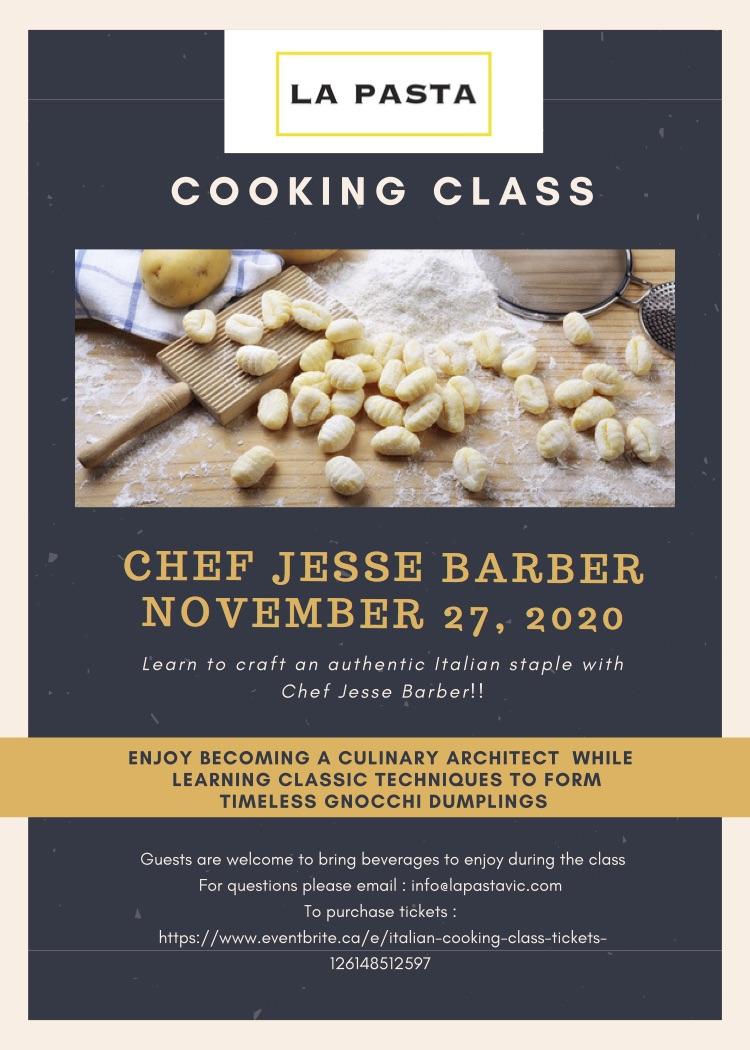 cooking class hudson market